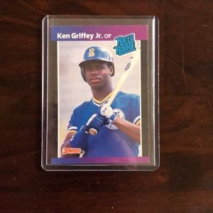 Rare, Ken Griffey JR rookie card!